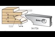561726 : Jeu de 2 fers Multizak doucine +  carrés 15 mm